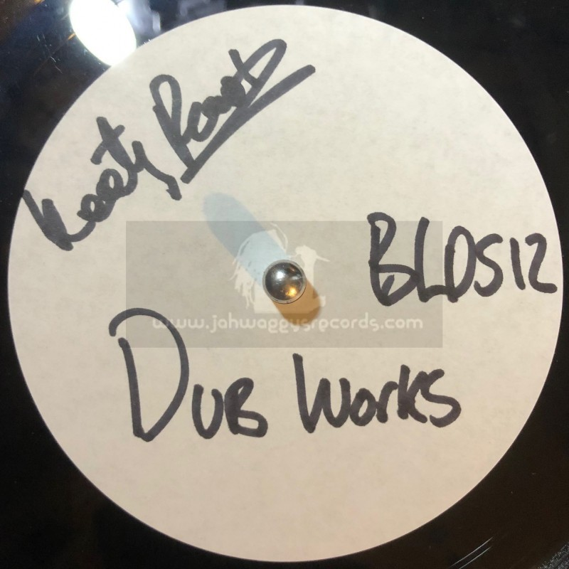 """Black Legacy Records-10""""-Dubplate-Dub Works / Keety Roots"""