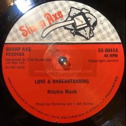 "Sharp Axe-12""-Love And Understanding / Ritchie Mack"
