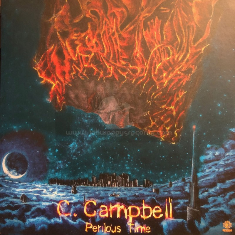 "Dreadrive Muzik Prod-12""-Perilous Time / Cornell Campbell + Time To Realize / Roberto Sanchez"