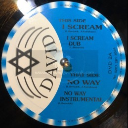 "David-10""-I Scream + No Way / Julian Faishare (2007)"