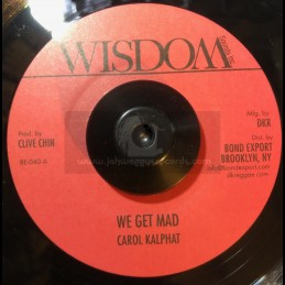 "Wisdom-7""-We Get Mad / Carol Kalphat"