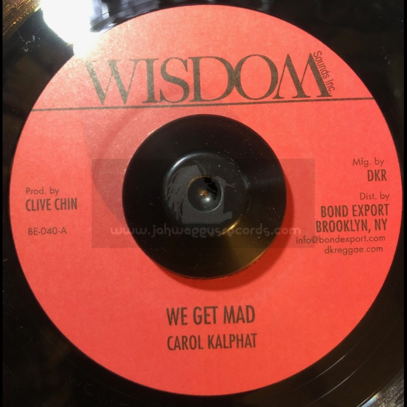 "Wisdom-7""-We Get Mad / Carol Kalphat"