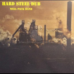 Stop Point Records-Lp-Hard Steel Dub / The Well Pack Band