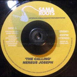 "Sama Roots-7""-The Calling / Nereus Joseph + The Dark Room / Ghetto Priest"