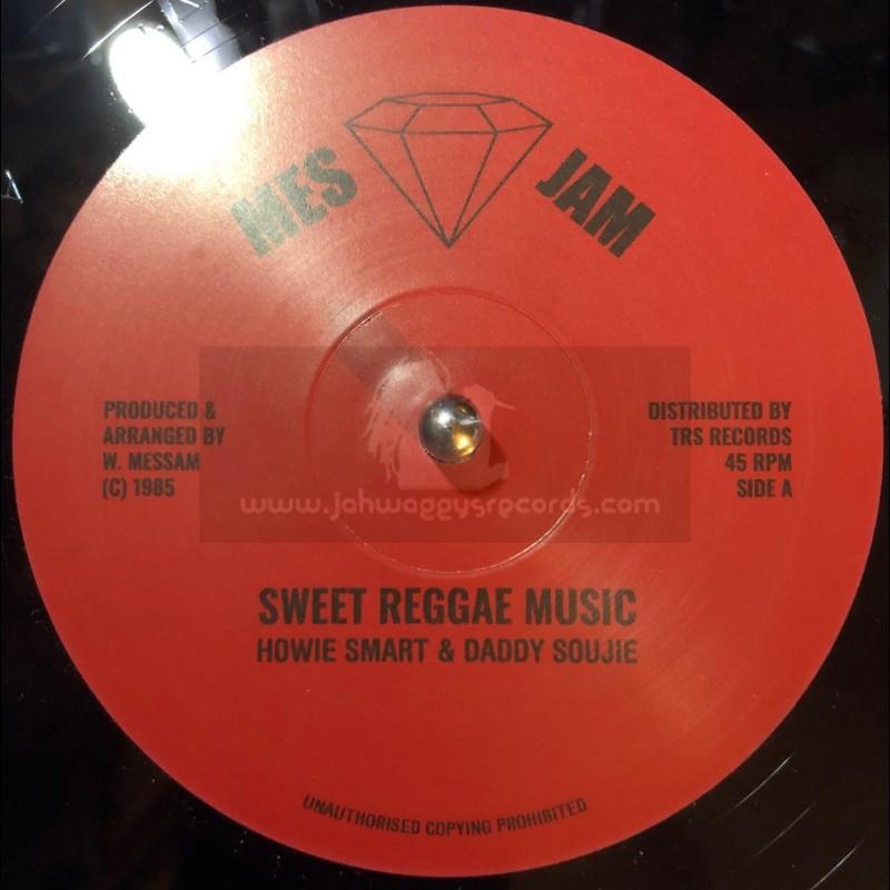 """Mes Jam-12""""-Sweet Reggae Music / Howie Smart + Beatitude / Daddy Soujie """