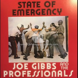 Joe Gibbs-Lp-State Of Emergency / Joe Gibbs & The Professionals