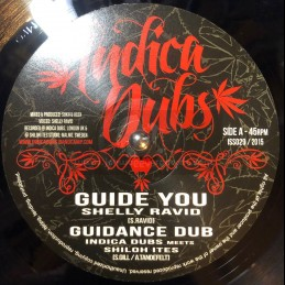 """Indica Dubs-10""""-Guide You / Shelly Ravid - Indica Dubs Meets Shiloh Ites"""