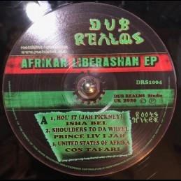 """Dub Realms-12""""-Afrikan Liberashan EP / shabel / Prince Livijah / Cos Tafari / Imperial Horns"""