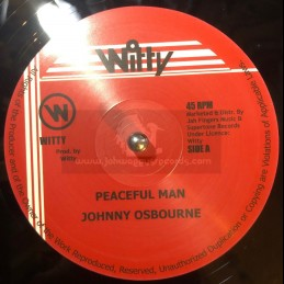 "Witty-12""-Peaceful Man / Johnny Osbourne"