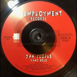 "Unemployment Records-7""-Jah People / Yami Bolo"
