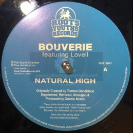 """Roots Youths Records-12""""-Natural High / Bouverie Feat. Lovell Sound Chamber"""