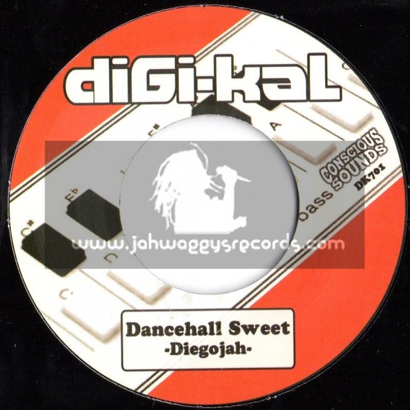 "Digi-Kal (Concious Sounds)-7""-Danehall Sweet / Diegojah"