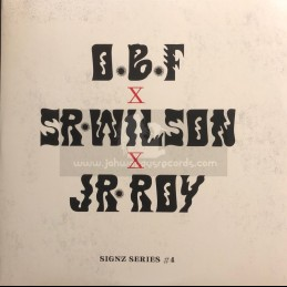 "Dubquake Records-12""-Party Ram / Sr Wilson + No More War / Junior Roy - OBF - Signz Series 4"