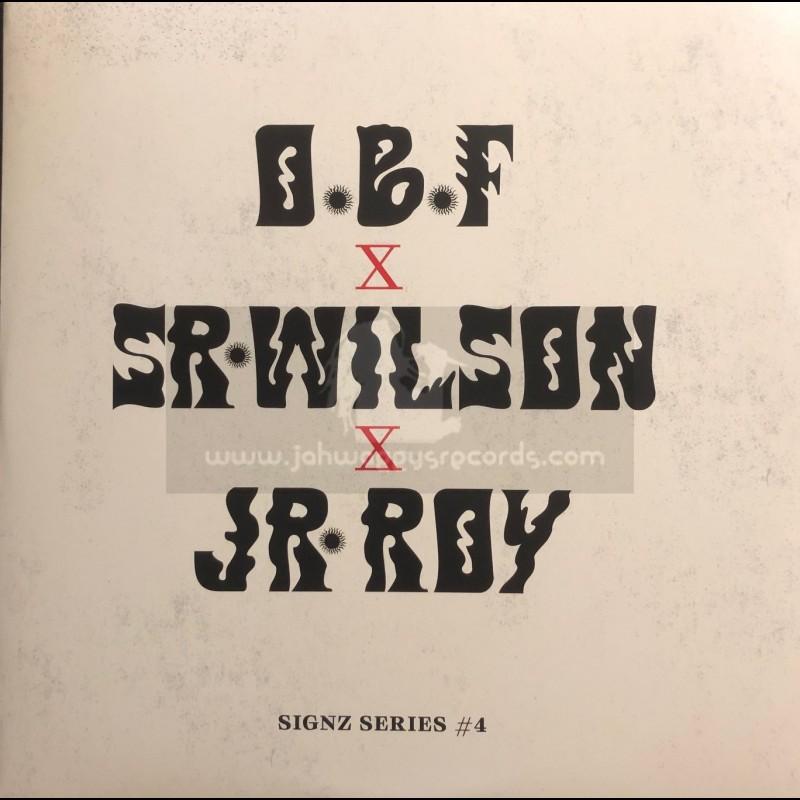 "Dubquake Records-12""-Party Ram / Sr Wilson + No More War / Junior Roy - OBF - Signz Series 4"