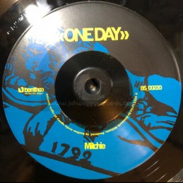 """Benthoo Records-7""""-One Day / Mitchie + Better Day / Jah Fagan"""