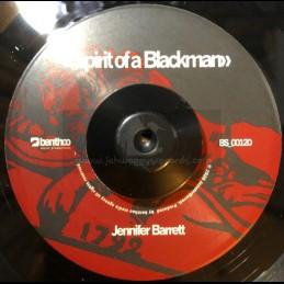 "Benthoo Records-7""-Spirit Of A Blackman / Jennifer Barrett + You Want My Daughter / Glen Ricks"