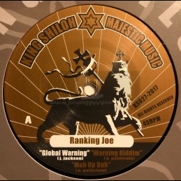 "King Shiloh Majestic Music-12""-Global Warning / Ranking Joe + Equal Rights / Ranking Joe"