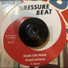 "Pressure Beat-7""-The Train Is Coming / Inspirations + Man Oh Man / Inspirations"
