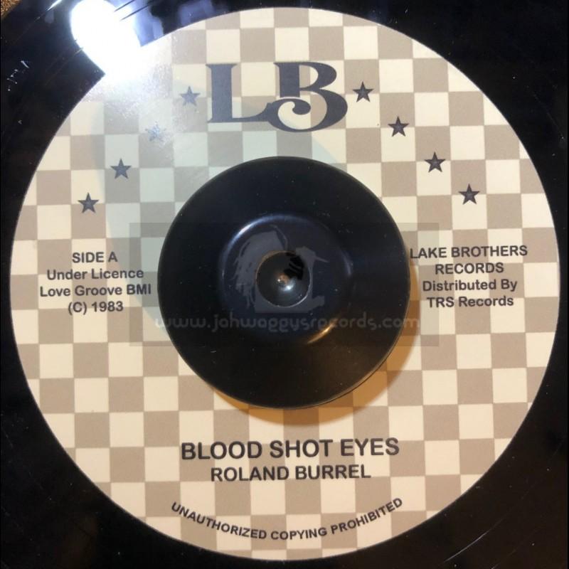 "LB Records-7""-Blood Shot Eyes / Roland Burrel"