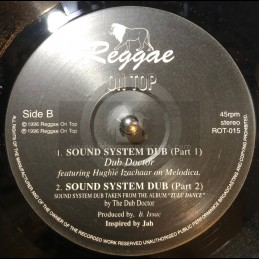 "Reggae On Top-12""-Birthday Song / Barry Issac + Sound System Dub / Dub Doctor Feat. Hughie Izachaar"