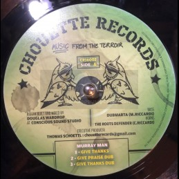 "Chouette Records-12""-Thanks And Praise / Murray Man + Warrior Sister / Amelia Harmony"