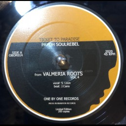 "One By One Records-7""-Ticket to Paradise / Payoh SoulRebel + You're no Sax / Bernat Fayos"