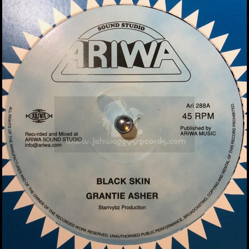 "Ariwa-12""-Black Skin / Grantie Asher + Emancipation Dub / Mad Professor"
