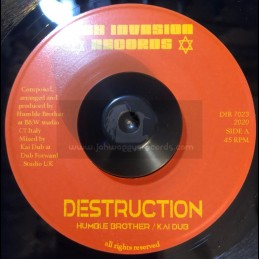 "Dub Invasion-7""-Destruction / Humble Brother & Kai Dub"