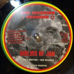 "Dub Invasion-7""-Violins Of Jah / Humble Brother & Ras Divarius"