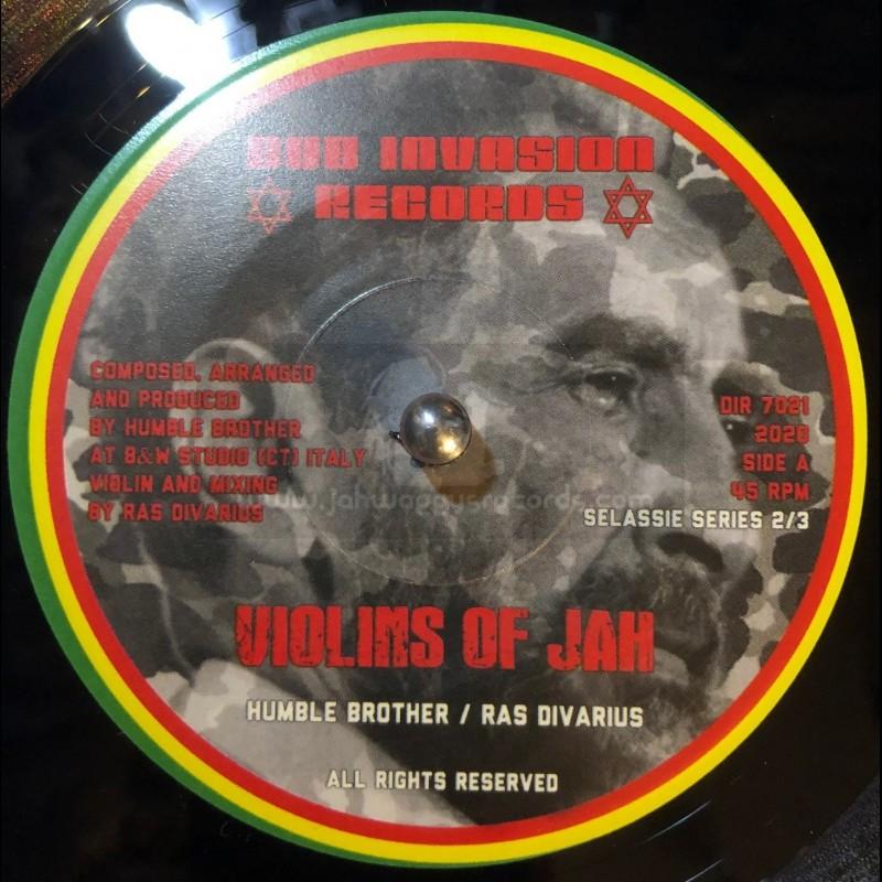 "Dub Invasion-7""-Violins Of Jah / Humble Brother & Ras Divarius"