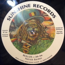 "Sunshine Records-12""-Realize / Patrick Gordon"