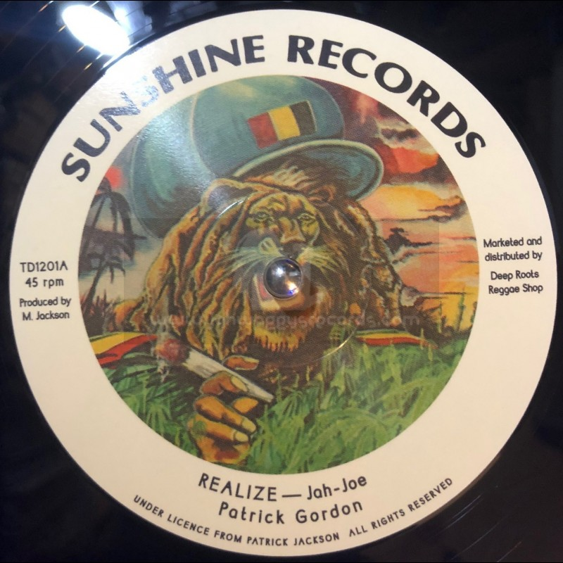 "Sunshine Records-12""-Realize / Patrick Gordon"