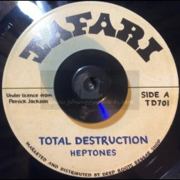 "Tafari-7""-Total Destruction / Heptones"