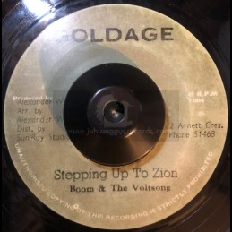 "GOLDAGE(LIMITED EDITION)-7""-STEPPING UP TO ZION / BOOM & THE VOLTSONG"
