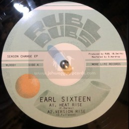 "More Life Records-10""-Heat Rise / Earl Sixteen + At This Time / Blackout JA"