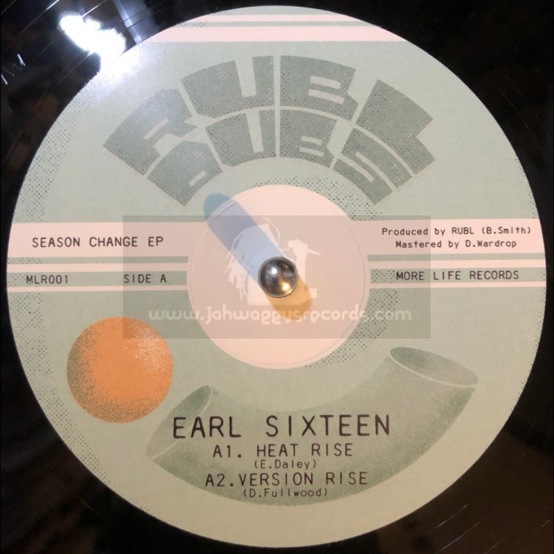 """More Life Records-10""""-Heat Rise / Earl Sixteen + At This Time / Blackout JA"""