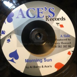 "Aces Records-7""-Morning Sun + Im Not A King / Al Barry And The Aces"