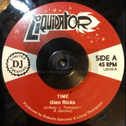 "Liquidator Music-7""-Time / Glen Ricks + Woman / Glen Ricks"