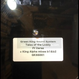 "Green King Sound System-10""-Poly Vinyl Dubplate-Tales Of Loddy / Versa + King Alpha Mixes- King Alpha"