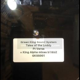 "Green King Sound System-10""-Poly Vinyl Dubplate-Tales Of Loddy / Versa + King Alpha Mixes- King Alpha"