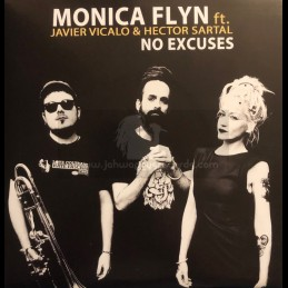 "The Dub Yard-7""-No Excuses / Monica Flyn Feat. Javier Vicalo & Héctor Sartal"