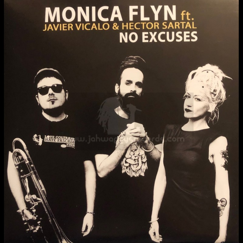 """The Dub Yard-7""""-No Excuses / Monica Flyn Feat. Javier Vicalo & Héctor Sartal"""