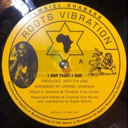 """Roots Vibration-12""""-I Am That I Am / Jamaiel Shabaka"""