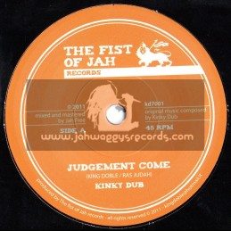 "The Fist Of Jah Records-7""-Judgement Come / King Doble & Ras Judah (Jah Free)"