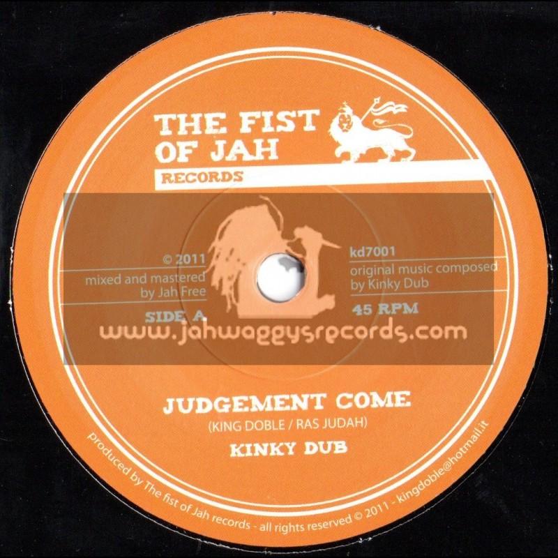 "The Fist Of Jah Records-7""-Judgement Come / King Doble & Ras Judah (Jah Free)"