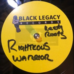 "Black Legacy Records-10""-Dubplate-Righteous Warrior / Keety Roots"