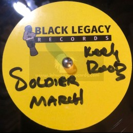 "Black Legacy Records-10""-Dubplate-Soldier March / Keety Roots"