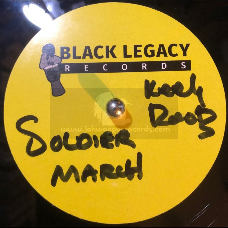 """Black Legacy Records-10""""-Dubplate-Soldier March / Keety Roots"""