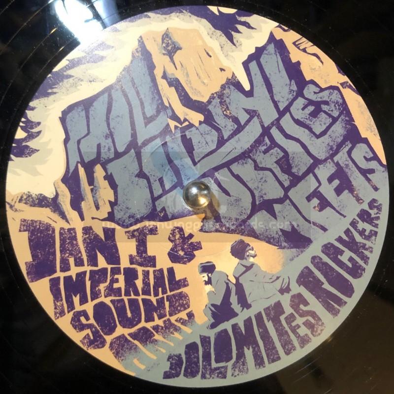 """La Tempesta Dub-12""""-Crucial / Dan I + Jah Bible / Dan-I Feat. Cisco Kid"""