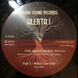 "Emana Sound Records-12""-Dub Against Fascism / Buriman Feat. The Navigator+Dub Against Homophobia / K-Sänn Feat Daman"